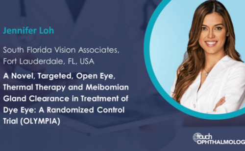 Jennifer Loh: ASCRS 2020 – A Novel, Targeted, Open Eye, Thermal Therapy for Treatment of Dry Eye